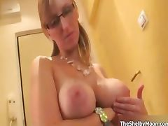 Nasty blonde milf gets horny playing part6 tube porn video