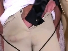 Tough British MILF gets jizz