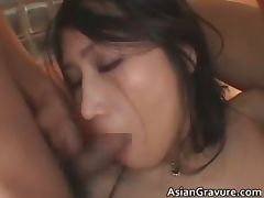 Knockers real asian Nayuka gets her arse part4