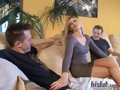 Darryl got sandwiched tube porn video