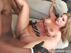 Sexy blonde skank with big tits blows part6 tube porn video