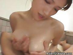 Big tits real asian Nayuka gets her part3