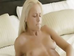 blond babe deep fingering snatch tube porn video