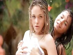 extreme girls in the rain tube porn video