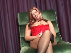 Beautiful Blonde BBW Eden porn tube video