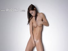 Sexy dance and teasing of hot babe