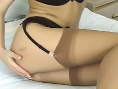 All, Dildo, Lingerie, Masturbation, Sex, Stockings