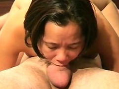 Asian Deepthroat 69