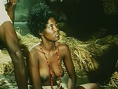 Topless African Girl Doing a Tribal Dance 1970 porn tube video