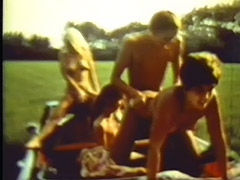 Three Hitchhiking Girls Getting Fucked 1970