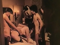 Vintage Old and Young, Blowjob, Classic, Granny, Mature, MILF