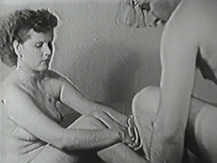 Hairy Boy Penetrating His New Friend 1950