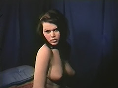 Charming Creamy Skinned Babes Posing 1960