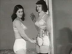 Beautiful Girls in Underwear in Strange Action 1950 tube porn video
