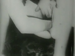 Old Man Shaves and Fists Girl's Cunt 1930 porn tube video