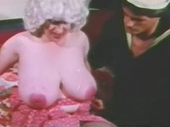 Mature with Enormous Big Boobs and Sailor 1960 tube porn video
