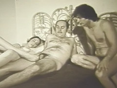 Retro, Big Cock, Classic, Gangbang, Group, Threesome