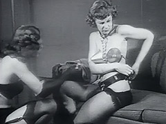 Bad Fetish Girls Enjoying Their Dark Pleasures 1950