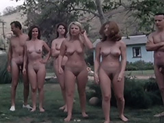 Naked Swingers Have Fun at Nudist Resort 1960 tube porn video