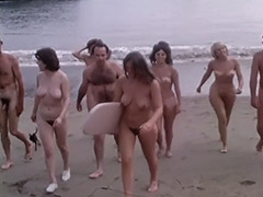 Natural Nudist Girls at a Wild Beach 1960 tube porn video