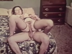 Cute Teen Talking to Her Lover 1960 tube porn video