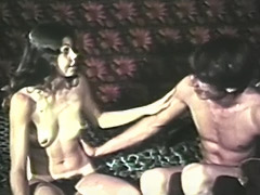 Horny Couple Enjoys 69 and Dildo Fuck 1970 porn tube video