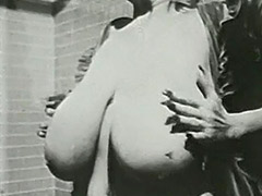 Big Boobed MILF Takes a Bath 1970 tube porn video