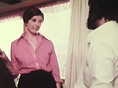 Pure Secretary is too Weak to Oppose 1970 tube porn video