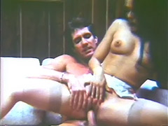 Hot Lesbian Women in the Bed 1970