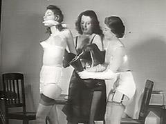 Naughty Babe is Punished Hard 1950
