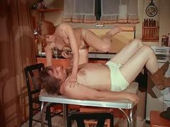 Beautiful Redhead Teen Seduced Fat Old Sheriff 1970 tube porn video
