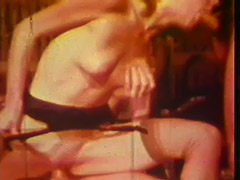 Hardcore Double Penetration with Horny Babe 1970