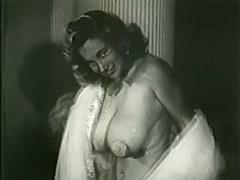 Shameless Harlot Posing all Night Long 1950 tube porn video