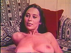Babe Eats Big Cock's Sperm Before Getting Fucked 1960