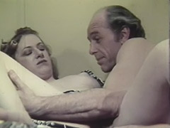 Old Man and Young Girl Hardcore 1970 tube porn video