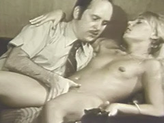 Blonde Girl Hypnotized in to Having Sex 1960 porn tube video