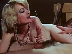 Pretty Hairy Pussy Masturbated Hard 1970