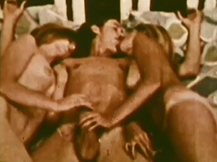 Threesome, Amateur, Babe, Blowjob, Classic, Group