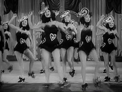 Burlesque Girls Dance on Stage 1940 porn tube video