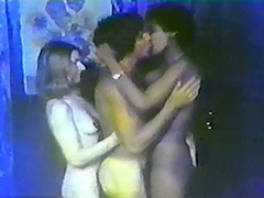 Partying Threesome gets Really Wild 1970 tube porn video