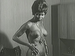 Vintage, Classic, Ebony, Interracial, Masturbation, Mature