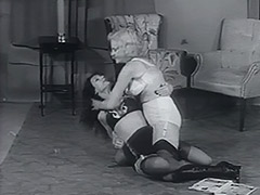 Nasty Chicks Fighting all Night Long 1950