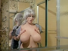 Chesty Morgan Washing Her World's Biggest Bust 1970
