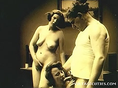 Vintage 1920s Real Group Sex Old and Young 1920 tube porn video