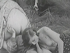 Rough Sex in Green Meadow 1930 tube porn video