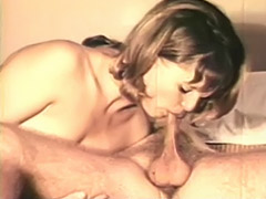 Naughty Couple Playing on the Bed 1970 porn tube video
