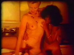 Licking Games of Hot Lesbians 1970