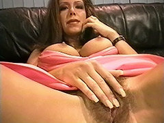 Outstanding Looking MILF is Getting Caught Pleasing Her Hairy Cunt by a Postman and then gets Fucked by Him porn tube video