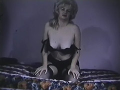 Mature Babe Demonstrates Her Boobs 1960 tube porn video