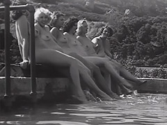 Nudist Teens Have a Good Time 1930 tube porn video
